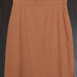 THE LIMITED STRECH orange skirt, size 10
